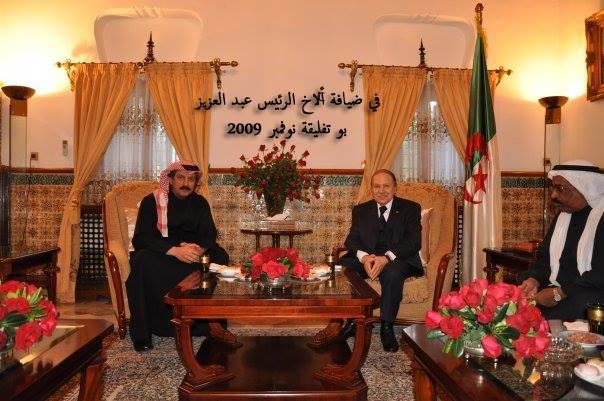 في ضيافة الأخ الرئيس عبد العزيز بو تفليقة نوفمبر 2009